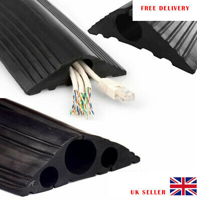 £11.99 • Buy Heavy Duty Safety Floor Mat Cable Wire Lead Protector Trunking Cover 1.5 M Long