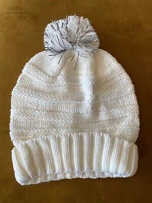 £0.99 • Buy Cream Cable Knit Hat Scarf Gloves Set Womens