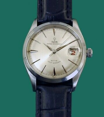$ CDN2425.09 • Buy Vintage1959 Tudor Rolex Prince Oysterdate Self-Winding Roulette Date Watch 7965