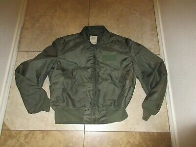 $ CDN44.77 • Buy VTG MILITARY JACKET L MEN FLYERS SUMMER TYPE CWU-36P 90s USA