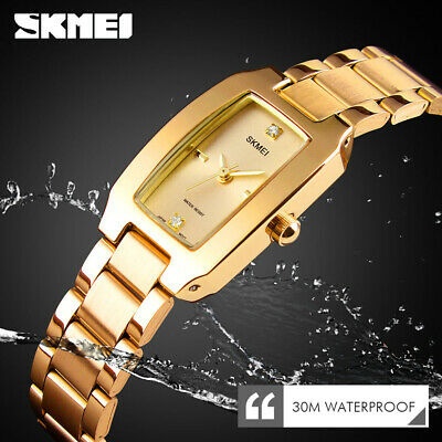 $ CDN13.19 • Buy SKMEI Fashion Women Watch Casual Quartz Rhinestone Waterproof Wristwatch 1400 F