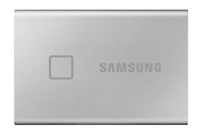 £120 • Buy Samsung T7 Touch 1TB Portable External SSD - Silver (MU-PC1T0S/WW)