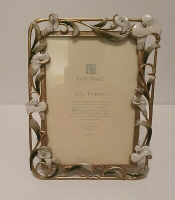 £20 • Buy Past Times Lily Photograph Frame Industrial Revolution Art Nouveau Style Unused