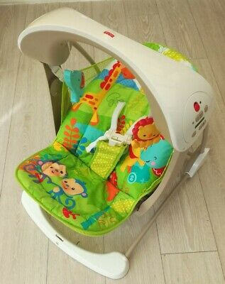 £28 • Buy Fisher Price Swing Rainforest Take Along Baby Musical
