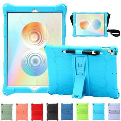 AU13.40 • Buy For IPad 7th Gen 10.2  Air Pro 10.5  11  Silicone Stand Case Cover W Pencil Slot