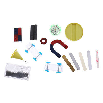 AU15.27 • Buy 1 Set Science Experiment Magnet Kit Props With Box For Kids Science Educational