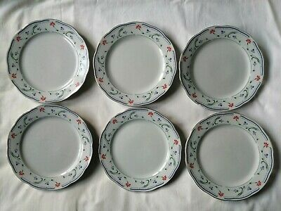 £13.99 • Buy Crown Dynasty 6 Plates Approx 20.5cm *** Buy It Now***