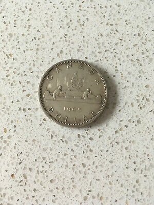 £20 • Buy Canadian 1965 Silver Dollar - Very Good Condition