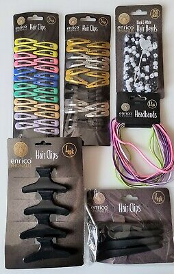 £4.99 • Buy Hair Accessories Slides Clips Hair Ties Bands Rollers Beads Bull Dog Clips