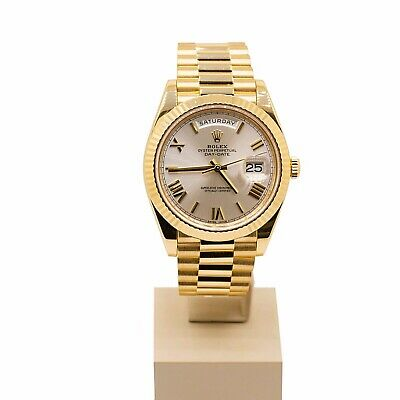 £27500 • Buy Rolex Day Date 40 228238 Silver Dial 2016 Box & Papers Mint Condition