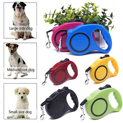 £6 • Buy Dog Leash Durable Retractable Nylon Lead Extending Puppy Walking Running Leads