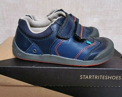 £1.70 • Buy Startrite Size 8.5H Boys Leather Shoes Navy