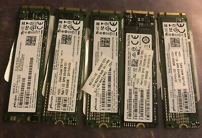 $ CDN193.59 • Buy Mixed Lot Of 5 MICRON/ SANDISK M2 SATA 256GB SSD Solid State Drives.