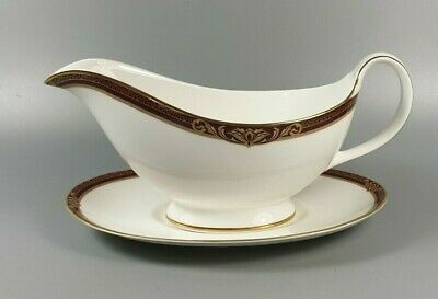 £39.99 • Buy Royal Doulton Tennyson H5249 Gravy / Sauce Boat And Stand