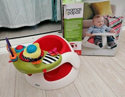 £29 • Buy Mamas And Papas Baby Snug Activity Tray Support Booster Seat Feeding