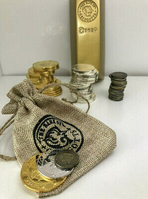 £5.85 • Buy Harry Potter Gringotts Coins Bank Money Bag With FREE Knight Bus + 9 3/4 Ticket