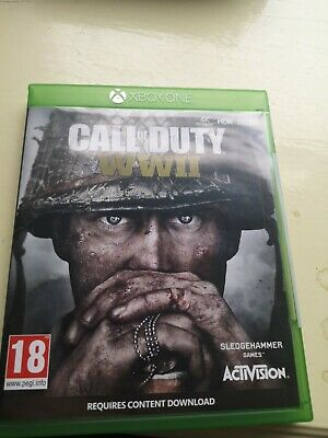 £7.99 • Buy Call Of Duty WWII Xbox One Video Game Fast Delivery!