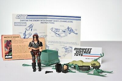 $ CDN72.60 • Buy Vintage GI JOE VEHICLE 1984 Swamp Skier W/ Zartan 100% Complete HASBRO