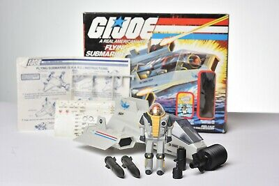 $ CDN32.67 • Buy Vintage GI JOE VEHICLE 1984 SHARC W/ Deep Six - HASBRO