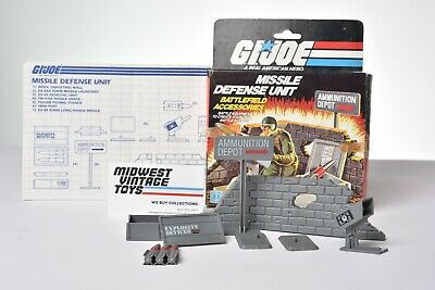 $ CDN19.96 • Buy Vintage GI JOE - VEHICLE 1984 MISSILE DEFENSE UNIT 100% COMPLETE - HASBRO