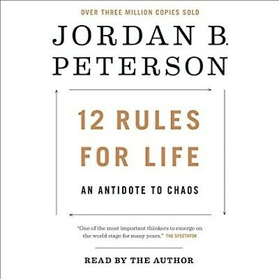 AU12 • Buy 12 Rules For Life: An Antidote To Chaos AUDIOBOOK Jordan B. Peterson Audio Book
