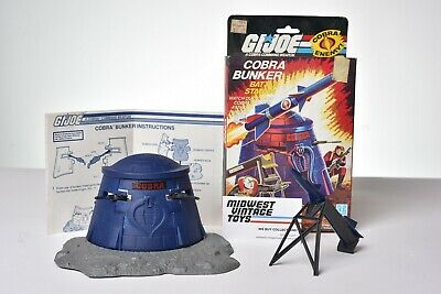 $ CDN42.35 • Buy Vintage GI JOE - VEHICLE 1985 COBRA BUNKER 100% COMPLETE - HASBRO