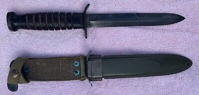 $825 • Buy U.S. Military CASE M3 Trench Fighting Knife  With USM8 Sheath
