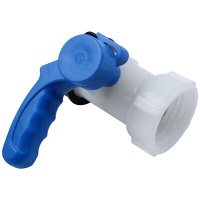 AU21.83 • Buy Ibc Tote Tank Butterfly Valve Drain Adapter 2.44 Inch Coarse Thread A4O8