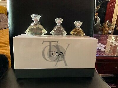£55 • Buy Tova Eau De Parfum Set..Original Formula 100ml...Nights 50ml..Body Mind & Spirit