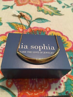 $ CDN15 • Buy Lia Sophia Highlight Gold Necklace With Tag