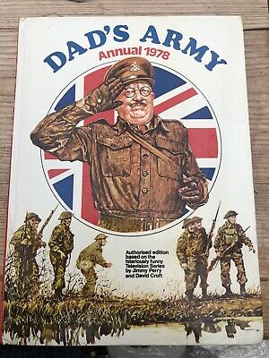 £15 • Buy Dads Army Annual 1978 - Signed By Actor Frank Williams (Vicar)