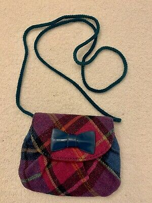 £5 • Buy Ness Pink, Blue And Purple Purse / Bag