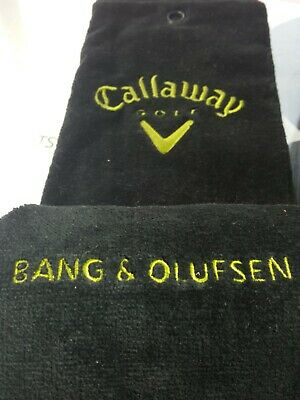 £0.99 • Buy Bang & Olufsen & Callaway Towel And A Golf Jacket With 'Bang & Olufsen' Logos.