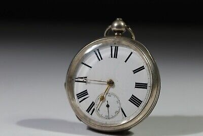 £95 • Buy Antique Solid Silver Gents Waltham Mass Pocket Watch 1885 Working