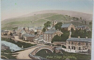 £4 • Buy Muker, Swaledale, North Yorkshire. No. 38295. F. Frith Postcard.