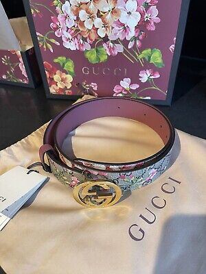 AU418.19 • Buy Gucci Bloom Pink Belt