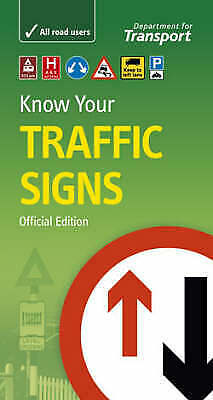 £5 • Buy Know Your Traffic Signs By Great Britain: Department For Transport (Paperback)