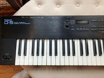 AU171.91 • Buy Roland D-5 Multi Timbral Linear Synthesizer