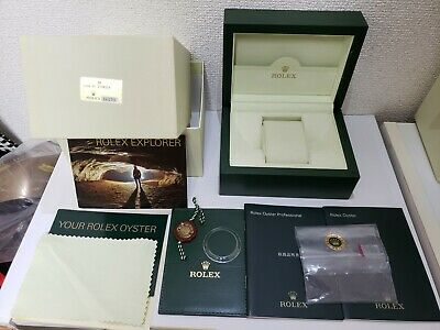 $ CDN338.79 • Buy Genuine Rolex 16570 Box With Booklet, Tag, Bezel Cover