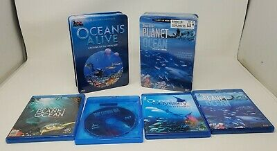 £10.64 • Buy Planet Ocean DVD Lot Of 6 Sealife Oceans Alive, The Living Sea Blu-ray & DVD