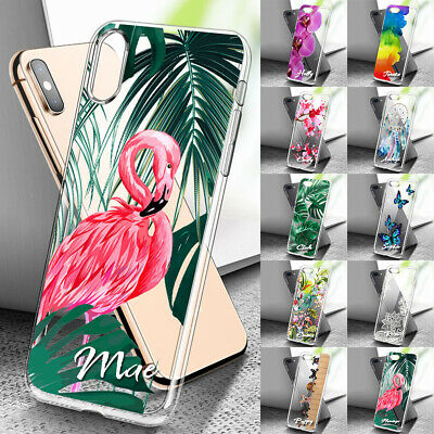 AU6.99 • Buy Personalised Name Clear Phone Case For IPhone 12 11 8 7 6 SE Plus Xs Pro Max XR