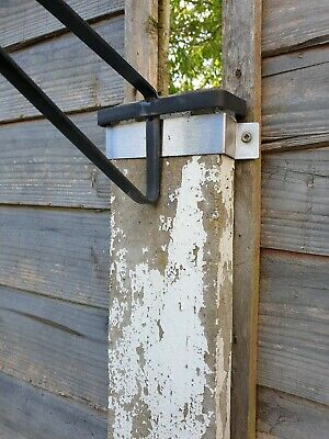 £7.90 • Buy 10 Stainless Steel Garden Fence Post Clamp Security Bracket / Anti Rattle