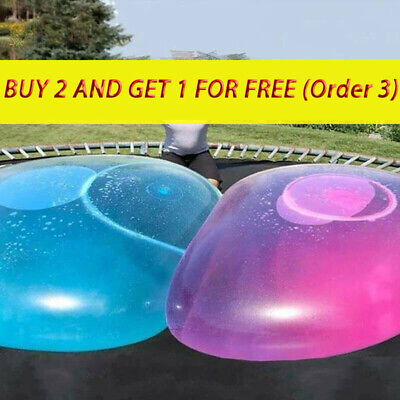£8.91 • Buy Inflatable Ball Water Balloon Giant Bubble Giant Ball Toy Rubber Beach Ball