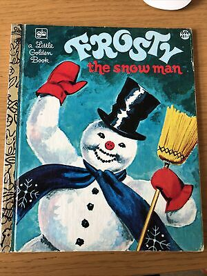 £1.30 • Buy A Little Golden Book Frosty The Snowman 1980