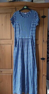 £2.20 • Buy Joules Trudy Maxi Dress Blue Stripe Size 12 Rrp £45