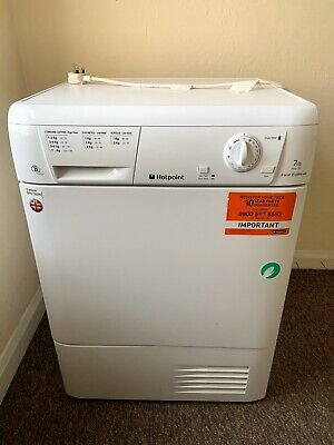 £100 • Buy Hotpoint FETC70BP First Edition 7kg Condenser Tumble Dryer White