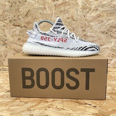 $ CDN528.42 • Buy Adidas Yeezy Boost 350 V2 Zebra Size UK 7.5 Brand New With Tags