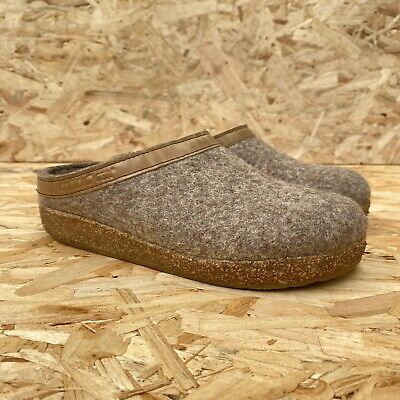 £22 • Buy Haflinger Slips Size 36 Grizzly Pure New Wool Slippers UK 3