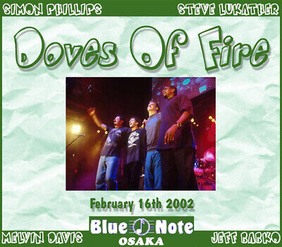 £35.46 • Buy DOVES OF FIRE @LIVE 3-CDs Simon Phillips,Toto,Jeff Beck,Billy Cobham JAZZ FUSION