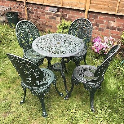 £275 • Buy Cast Aluminium Garden Table And Chairs